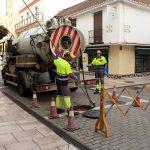 Trabajos de prevención para evitar posible inundaciones