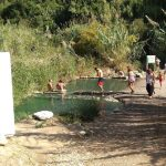 Los Baños de la Hedionda registran más de 12.000 visitas durante el mes de agosto
