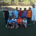 Comienza el fútbol femenino en Estepona
