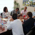 El Ayuntamiento de Estepona y la Diputación de Málaga abordan con Demarcación de Carreteras un nuevo acceso desde la A-7 al núcleo urbano del municipio