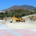 Las obras de urbanización de La Lobilla, que conectarán con la segunda circunvalación, llegan a su ecuador