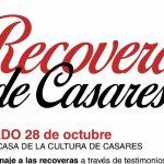 Casares homenajea a las recoveras el fin de semana del 28 y 29 de octubre