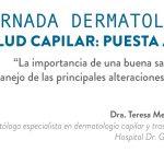 """Jornada de dermatología """"Salud Capilar: puesta al día"""" organizada por la unidad del Cabello del Hospital Galvez"""