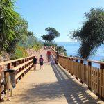 Inaugurado un nuevo tramo de la senda litoral en Punta La Plata