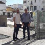 Ciudadanos Estepona reclama al Ayuntamiento que termine las obras de la plaza Antonia Guerrero antes del periodo navideño