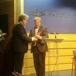 El alcalde recibe el premio 'Ciudad Siglo XXI' por el proyecto de desarrollo urbano 'Estepona, Jardín de la Costa del Sol'