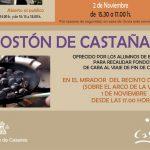 Casares celebra la noche de Todos los Santos con su tradicional tostón de castaña junto al cementerio local
