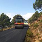 La Diputación ultima la mejora de siete kilómetros de la carretera entre Estepona y Jubrique