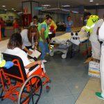 El Hospital Costa del Sol ha revisado su Plan de Emergencias Externo con un simulacro en Urgencias