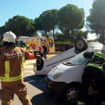 Los centros coordinadores del 061 reciben un 12% más de peticiones de asistencia por accidente de tráfico durante este año en Andalucía