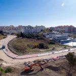 Las obras de urbanización de La Lobilla entran en su recta final al superar el 75% de su ejecución