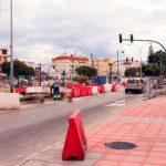La nueva rotonda en la Avda Juan Carlos tendrá un fuente con juego de luces