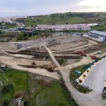 El Ayuntamiento ejecuta los movimientos de tierra de la obra del Estadio de Atletismo