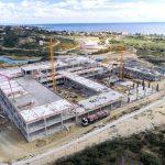 El Ayuntamiento concluirá este mes la obra de estructura del Hospital de Alta Resolución de Estepona