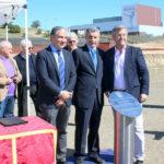 Colocada la primera piedra del complejo deportivo del Estadio de Atletismo