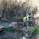 El Ayuntamiento realiza obras en la red de saneamiento  para eliminar vertidos y malos olores en la zona de Bel-Air