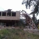 El Ayuntamiento ordena la demolición de una estructura  que se encontraba fuera de ordenación