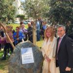 El alcalde y la baronesa inauguran los 'Jardines de Carmen Thyssen' en el Parque Botánico de Estepona