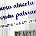La Asociación de Mujeres Peñas Blancas de Estepona organiza una mesa abierta sobre la opresión patriarcal