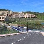 Entran en su recta final las obras de la nueva conexión en Valle Romano que dará acceso al Hospital de Estepona
