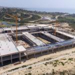 Las obras del Hospital de Estepona superan el 30 por ciento de ejecución