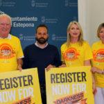 Estepona acogerá la marcha solidaria 'Darkness into Light' para ayudar a personas en riesgo de suicidio
