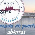 Jornada de Puertas Abiertas en el Real Club Náutico para la iniciación en la práctica de remo