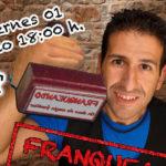 FRANQUEANDO, show de magia familiar con Fran Qué en el centro Cultural Padre Manuel