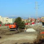 Comienzan las obras de urbanización de Bel-Air para crear una gran  zona verde y un vial hasta Casablanca