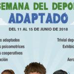 El Ayuntamiento colabora en la VI Semana del Deporte Adaptado que organiza el Colegio María Espinosa