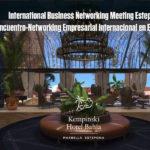 La tercera edición del Encuentro Internacional de Networking Empresarial se celebrará en El Paseo del Mar en Kempinski Hotel Bahía