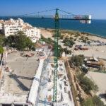 Estepona podrá contar en breve con la plaza-mirador en la playa del Cristo