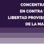 La Asociación de Mujeres Peñas Blancas convoca una concentración para hoy en contra de la libertad provisional de los miembros de La Manada