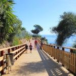 La Diputación aprueba una subvención de 666.000 euros para dos nuevos tramos de la Senda Litoral en Estepona