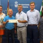 El Ayuntamiento entrega una subvención de 20.000 euros a la Agrupación de Hermandades y Cofradías de Semana Santa