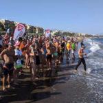 Cerca de 200 nadadores acudieron a la IV Travesía a Nado Virgen del Carmen