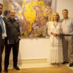 Inaugurada la exposición de Urbano Galindo en Kempinski Hotel Bahía