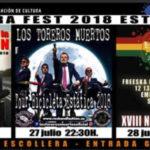 'La Unión', 'Los Toreros Muertos' y grupos de reggae protagonizarán el 'Escollera Fest 2018' en Estepona