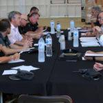La Junta Local de Seguridad mantiene una reunión de coordinación para el festival de Los Álamos
