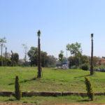 Estepona crea una pradera verde de 5.000 metros cuadrados en el acceso Este al municipio