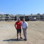 La obra del Estadio de Atletismo y del aparcamiento para mil plazas llega a la mitad de ejecución