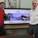 Casares presenta su nueva página web