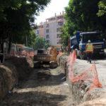 Ejecutado el 50% de la primera fase de las obras de remodelación de la avenida Andalucía