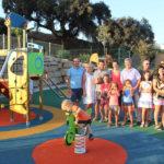El Ayuntamiento crea un área infantil y de ocio en calle Lima, en la zona de Arroyo de las Cañas