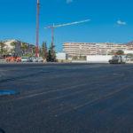 El Ayuntamiento acondiciona un área en la avenida Juan Carlos I para el aparcamiento gratuito de 160 vehículos