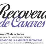 Casares celebra la II Ruta de las Recoveras el próximo sábado 27 de octubre