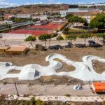 Estepona concluye la pista de pumptrack diseñada por el campeón mundial Rubén Alcántara