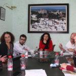 Mesa de trabajo de la Asociación ALCER  para difundir en Casares su servicio de atención online a enfermos renales