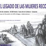Casares rinde homenaje a las recoveras con una ruta de senderismo y un taller para visibilizar su legado