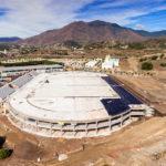 La obra del Estadio de Atletismo y del aparcamiento para mil plazas supera el 60 por ciento de su ejecución